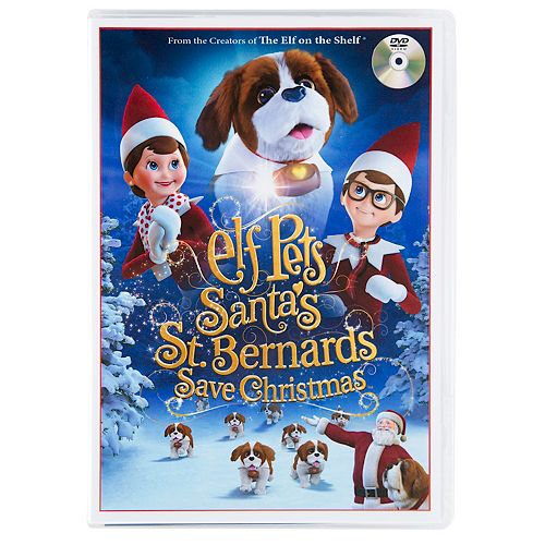 Save Christmas.The Elf On The Shelf Elf Pets Santa S St Bernards Save Christmas Dvd