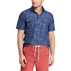 Men's Chaps Classic-Fit Outdoor Button-Down Shirt