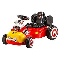 Disney's Mickey Mouse Kid Trax Mickey's Roadster Ride-On Vehicle