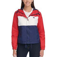Women's Levi's Hooded Lightweight Rain Jacket