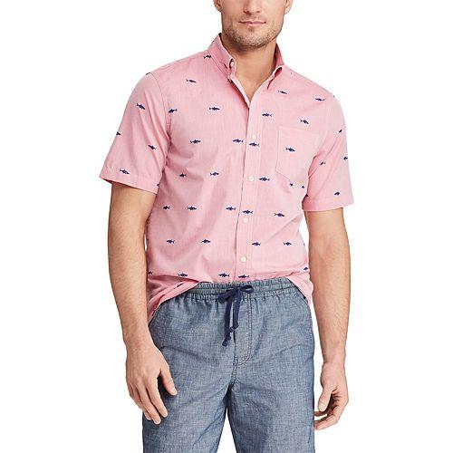 Men's Chaps Classic-Fit Easy Care Button-Down Shirt