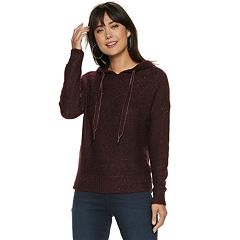 Women's Jennifer Lopez Sequin Hooded Sweater