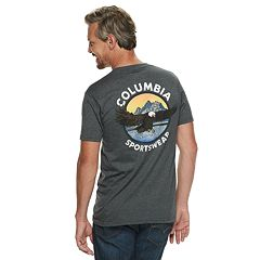 Men's Columbia Logo Outdoor Graphic Tee