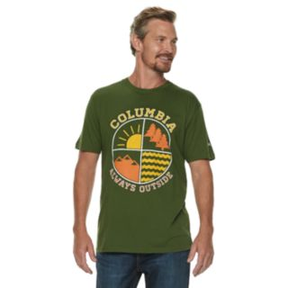 "Men's Columbia ""Always Outside"" Outdoor Graphic Tee"