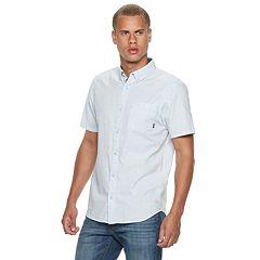 53d88916 Men's Vans Oxen Button-Down Shirt