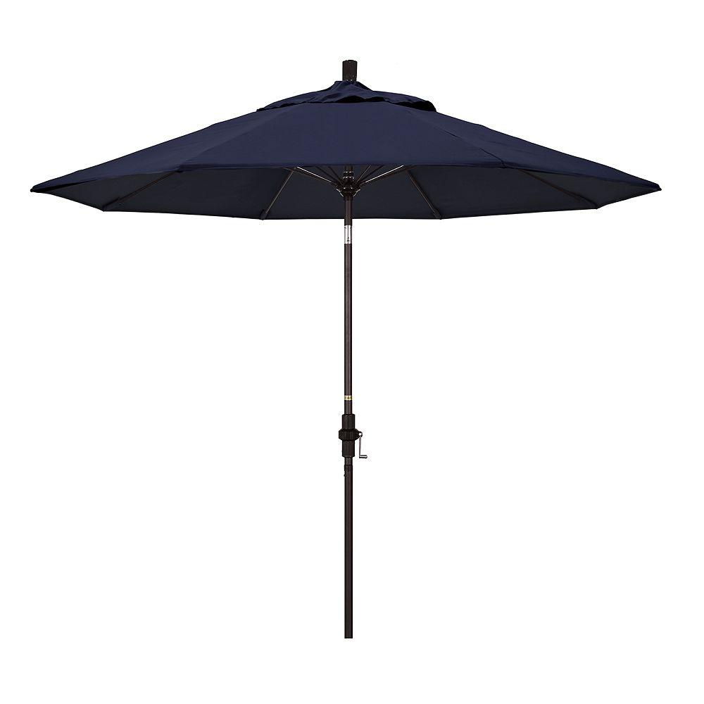 California Umbrella 9-ft. Sun Master Bronze Finish Sunbrella Patio Umbrella