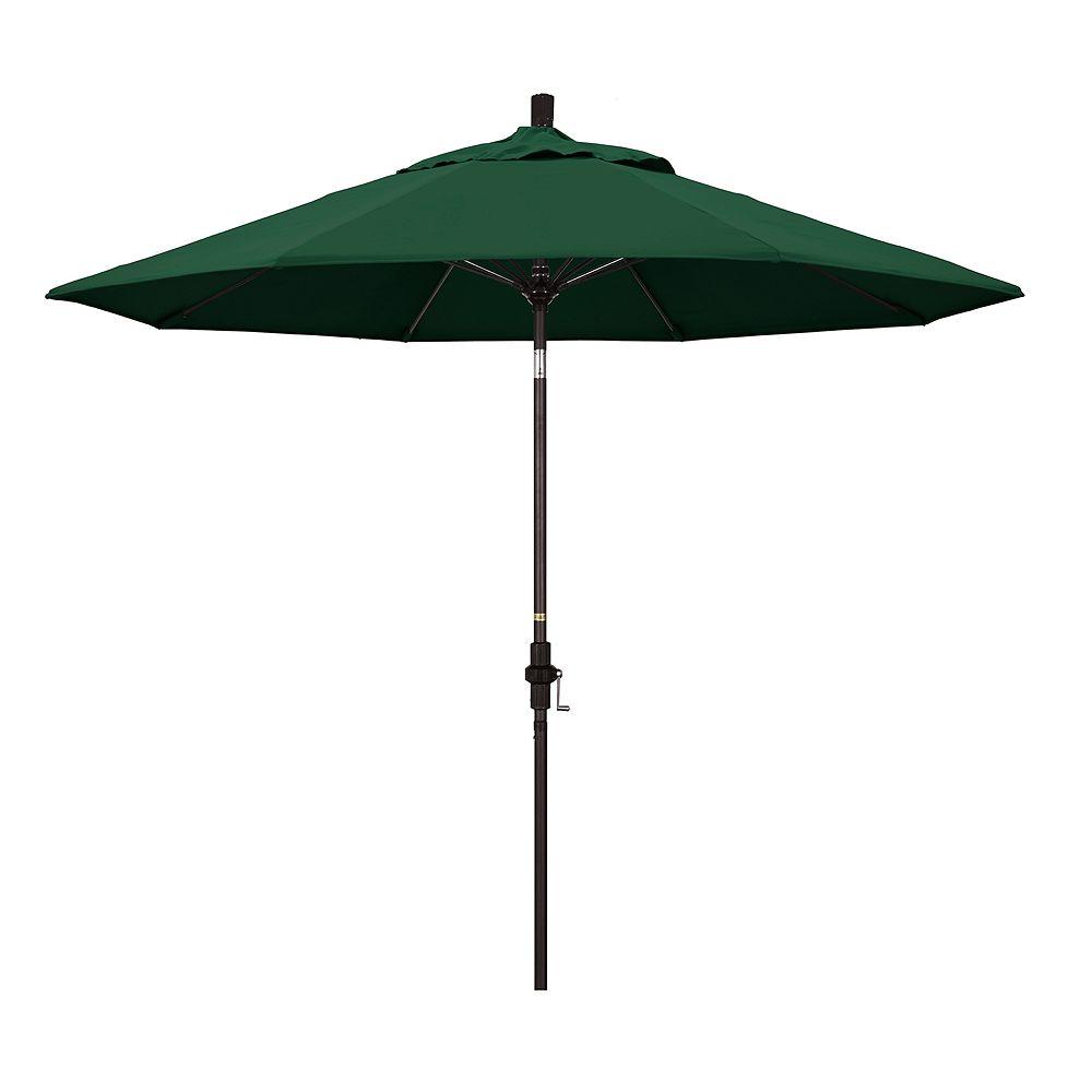 California Umbrella 9-ft. Sun Master Bronze Finish Patio Umbrella