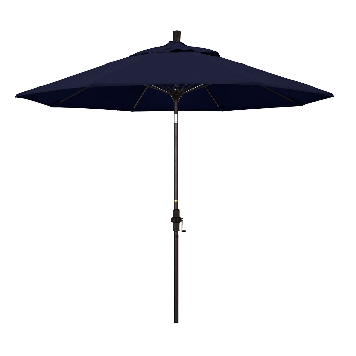 California Umbrella 9 Ft. Sun Master Bronze Finish Patio Umbrella