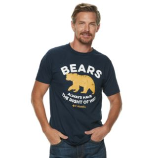 "Men's Columbia ""Bears"" Outdoor Graphic Tee"