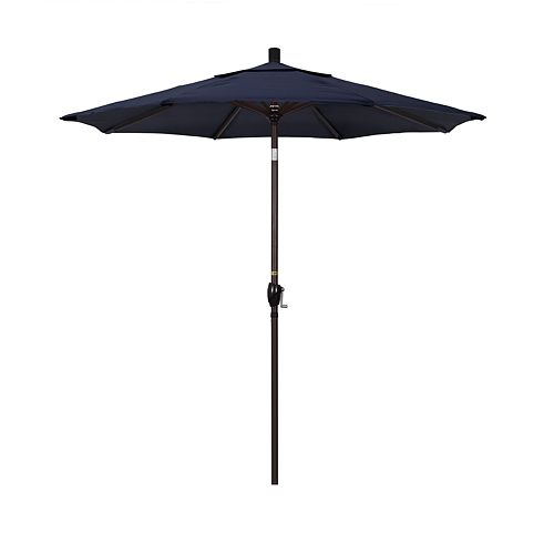 California Umbrella 7.5-ft. Pacific Trail Bronze Finish Sunbrella Patio Umbrella