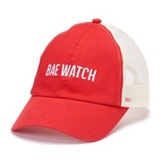 Women's 'Bae Watch' Trucker Cap