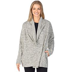 Women's Cuddl Duds Wrap Bed Jacket