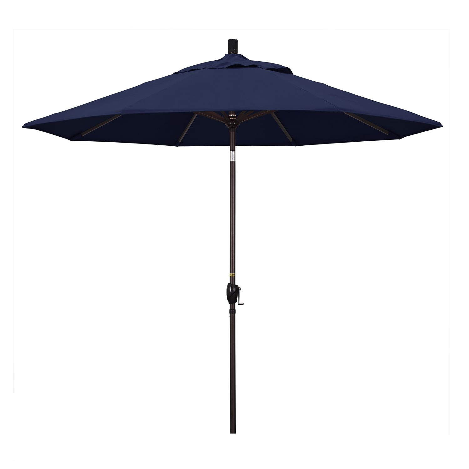 California Umbrella 9 Ft. Pacific Trail Bronze Finish Patio Umbrella