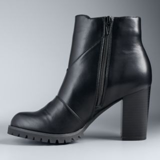 Simply Vera Vera Wang Canary Women's High Heel Ankle Boots