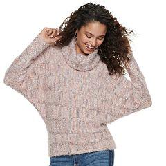 Juniors' American Rag Dolman Texture Sweater