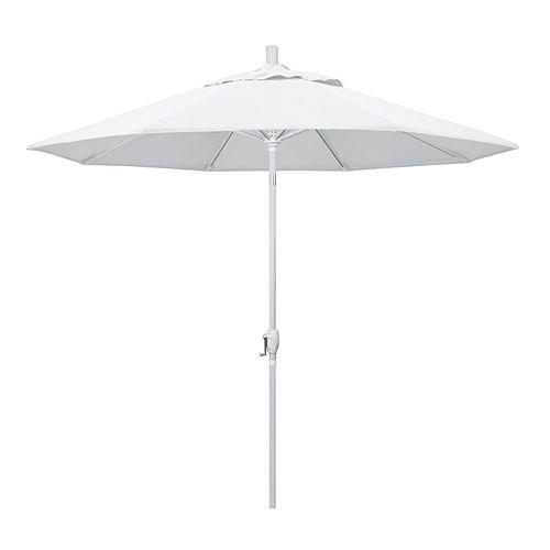 California Umbrella 9-ft. Pacific Trail Platinum Finish Patio Umbrella