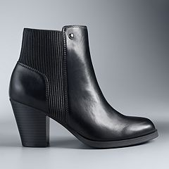 Simply Vera Vera Wang Chickadee Women's High Heel Ankle Boots