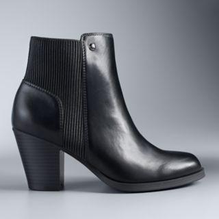 Simply Vera Vera Wang Chickadee Women's High Heel Ankle Boots
