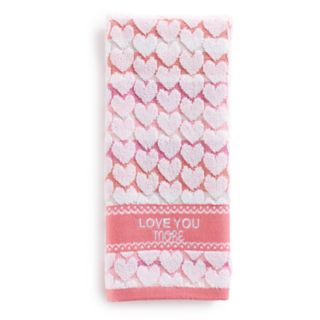 Celebrate Together Love You More Hand Towel