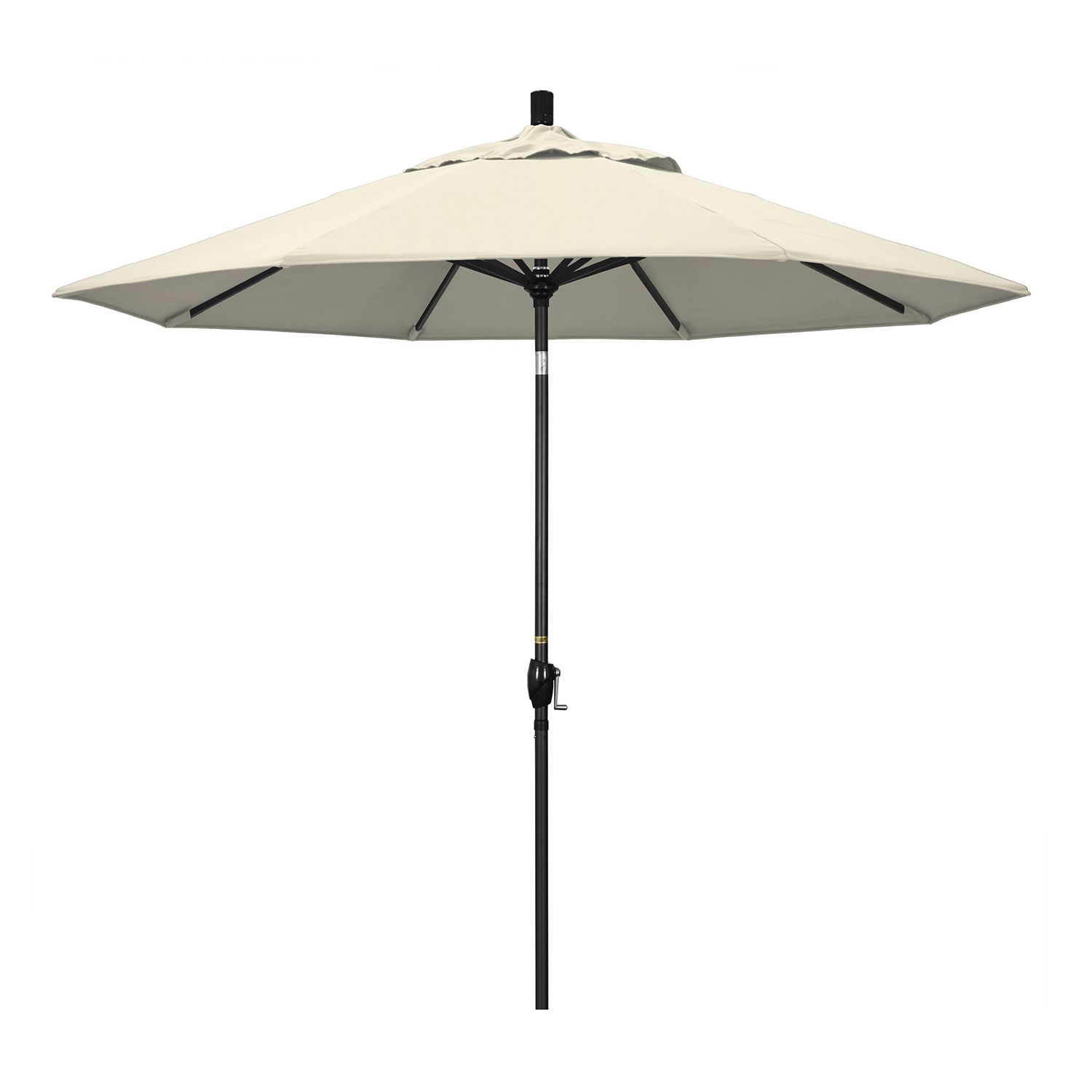 Exceptionnel California Umbrella 9 Ft. Pacific Trail Black Finish Patio Umbrella