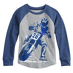 Boys 4-12 SONOMA Goods for Life™ Thermal Raglan Top