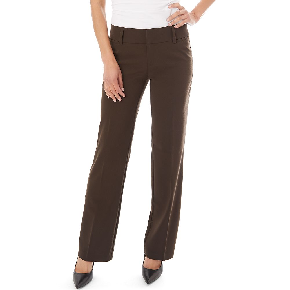 Women's Apt. 9® Milan Bootcut Dress Pants