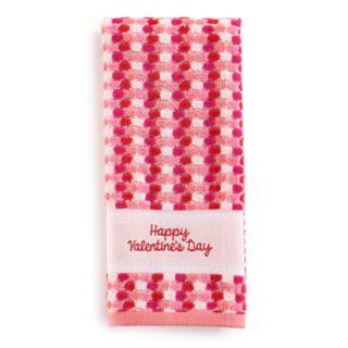 Celebrate Together Valentines Dot Hand Towel