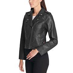 Women's Levi's® Faux Leather Motorcycle Jacket