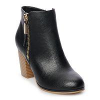 Apt. 9 Timezone Women's High Heel Ankle Boots Deals