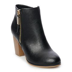 Apt. 9® Timezone Women's High Heel Ankle Boots