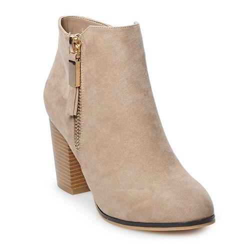 7dda2c02819c Apt. 9® Timezone Women s High Heel Ankle Boots