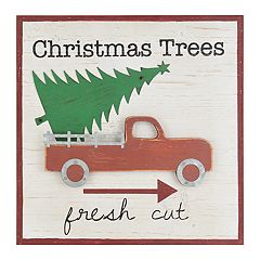 Belle Maison 'Fresh Cut' Christmas Wall Decor