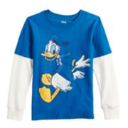 Disney's Donald Duck Boys 4-12 Mock Layer Graphic Tee by Jumping Beans®