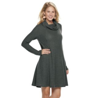 Women's SONOMA Goods for Life? Waffle Cowlneck Dress
