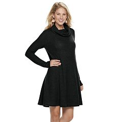 Women's SONOMA Goods for Life™ Waffle Cowlneck Dress