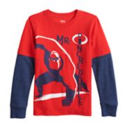 Disney's The Incredibles Boys 4-12 Mock Layer Graphic Tee by Jumping Beans®