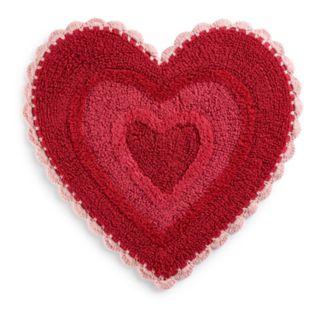 Celebrate Together Crochet Heart rug