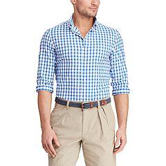 Men's Chaps Classic-Fit Performance Button-Down Shirt