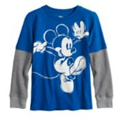 Disney's Mickey Mouse Boys 4-12 Mock Layer Graphic Tee by Jumping Beans®