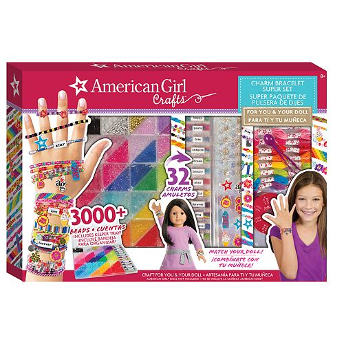American Girl Charm Bracelet Super Set by Fashion Angels