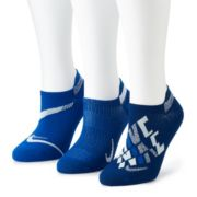 Women's Nike Everyday Plus 3-Pair Lightweight No-Show Training Socks