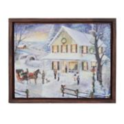 New View Holiday Home Christmas Wall Art