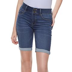 Juniors' SO® High-Waisted Ultimate Bermuda Shorts