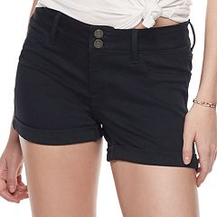 Juniors' SO® Low-Rise Ultimate Midi Shorts