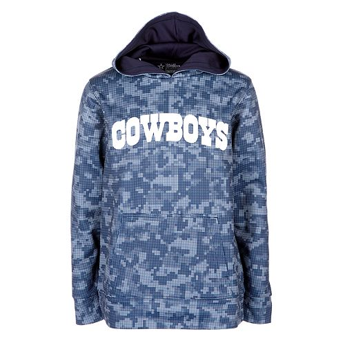 finest selection dd8b4 11b87 Boys 8-20 Dallas Cowboys Camo Hoodie