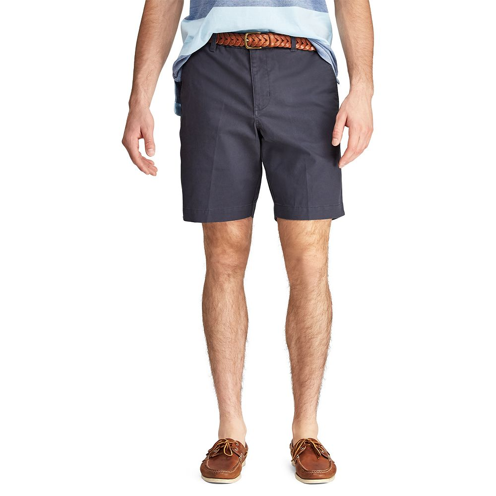 Men's Chaps Classic-Fit Stretch Flat-Front Shorts
