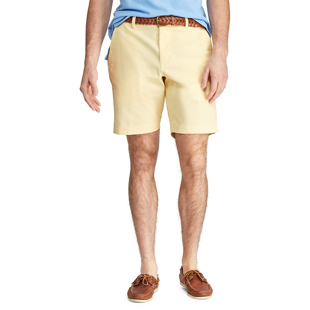 Men's Chaps Classic-Fit Stretch Flat-Front Shorts