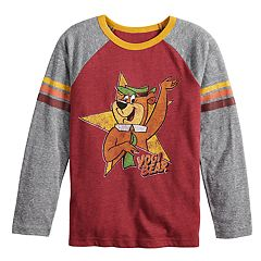 Boys 4-12 Jumping Beans® Retro Yogi Bear Raglan Graphic Tee