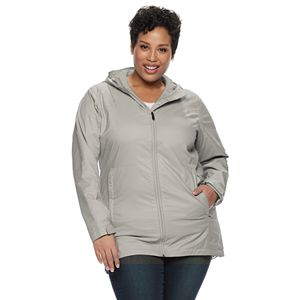 Plus Size Columbia Switchback Lined Rain Jacket