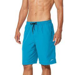 Men's Speedo Solid Comfort Liner Brushed Microfiber Volley Shorts